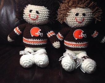 Best Buddy Boy Doll Crocheted