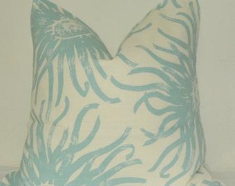 Pillow Cover, Decorative Pillow, Throw Pillow, Toss Pillow, Accent Pillow, Blue Floral, Home Furnishing, Home Decor, Pillow Case