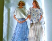 Women's Top and Skirt Simplicity Pattern