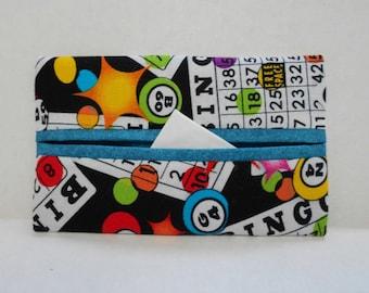 Bingo Tissue Cozy/Gift Card Holder