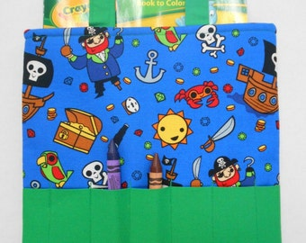 Pirate's Life Crayon Tote