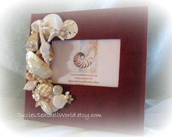 Beachside Joy Seashell Photo Album