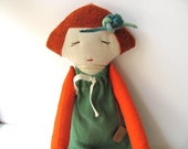 Sweet moma-- Doll----Child friendly---Recycled---Toy-Fabric Doll--under 55 USD