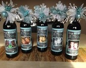 Bridesmaids Wine Labels - Wedding Wine Label- MODERN - Will you be my Bridesmaid - Personalized Wine Label (1)