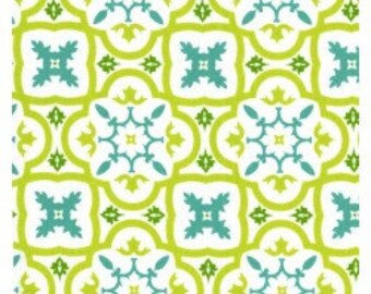SALE- Patty Young- Andalucia- Moorish Tile in White- 1 yard