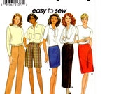 Sewing Pattern, Simplicity 8043, Womens Skirts and Pants, Size 4, 6, 8
