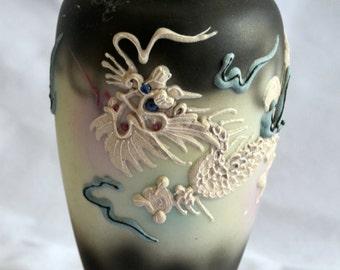 "5"" tall Moriage Dragonware Vase"