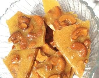 P-Nut Brittle, or Cashew Brittle....snack size,