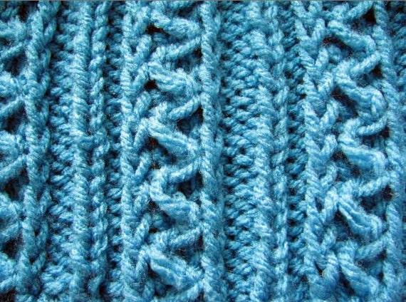 Zig Zag Sweater Knitting Pattern : Knit dog sweater knitting pattern zig zag rib design