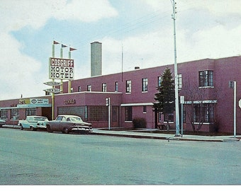 Items similar to the saharan motor hotel 5x5 fine art for City center motor hotel vancouver