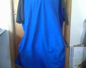 Blue long tunic 1XL SCA LARP Belegarth Dagorhir
