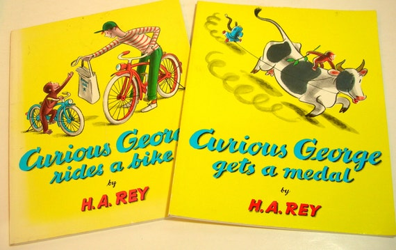 a review of ha reys book curious george rides a bike The paperback of the jorge el curioso monta en bicicleta by h a  one of the few items the reys carried with them on  as curious george rides a bike.