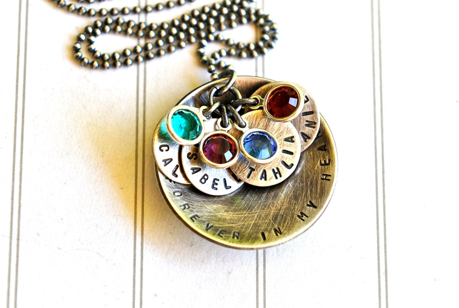 personalized necklace mothers day jewelry