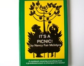 Vintage Cookbook Its a Picnic Book Outdoor Foods Nancy McIntyre 1969 Backpack Tailgating Party Beach Boat Recipes