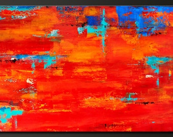Without Limits - 24 x 36 - Abstract Acrylic Painting on Canvas - Contemporary Modern Wall Art - Original - On Sale