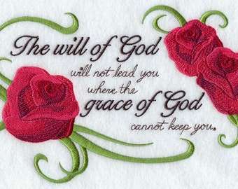THE WILL Of GOD - Machine Embroidery Quilt Blocks (AzEB)