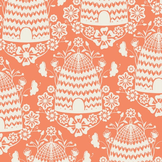 SALE - Art Gallery - Sweet as Honey Collection by Bonnie Christine - Honey House in Peach