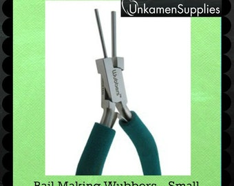 Wubbers Small Bail Making Pliers Professionally Prepped - 1301 - Wire Sample Included - 100% Guarantee