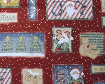 Daisy Kingdom Christmas fabric Santa Bear Trees