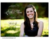 10-Photo Card Graduation Invitations/College Announcements/Senior Invites/4x6 or 5x7