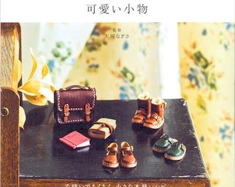 Miniature Leather Craft - Japanese craft book