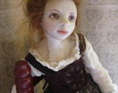 SALE!!! Was 800.00, NOW, 500.00 OOAK Art Doll, Brygida