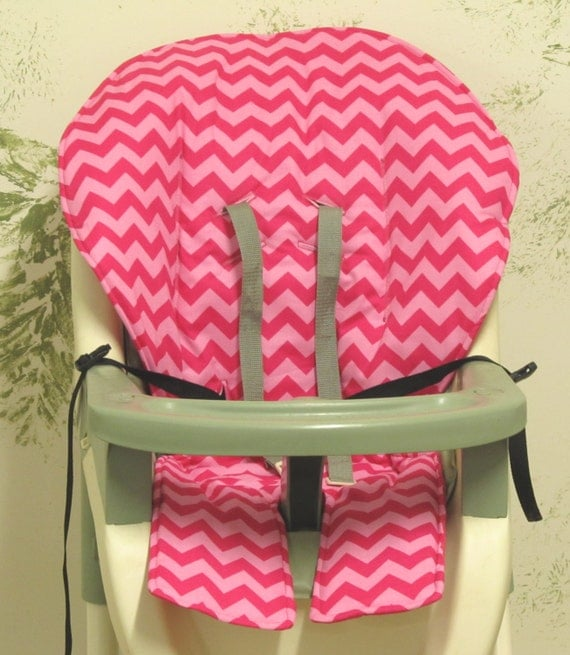 graco high chair cover pad replacement two tone hot pink. Black Bedroom Furniture Sets. Home Design Ideas
