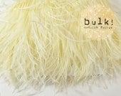 IVORY - BULK - Vogue Ostrich Thrill - Feather Trim - Ostrich Trim - Wholesale Feathers