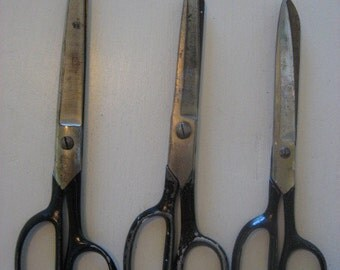 collection of vintage scissors no 4