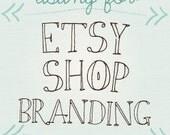 custom etsy branding