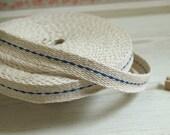 Weaving Blue Stich strap 15mm, U7152