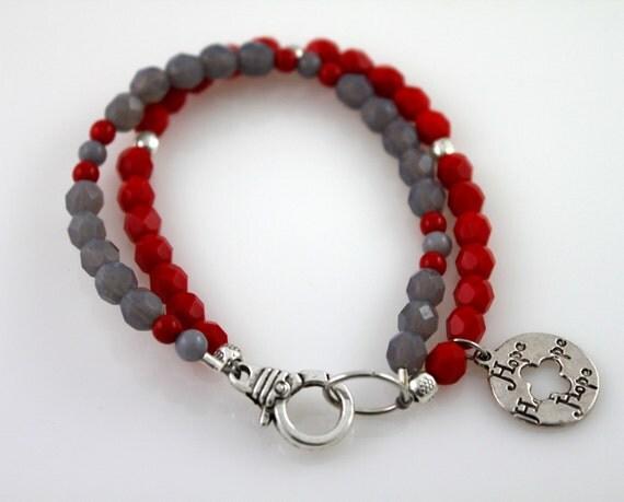 juvenile diabetes awareness bracelet by starzjewelry