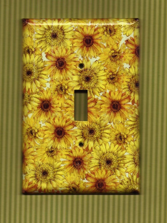 SunFlower Power Switchplate cover