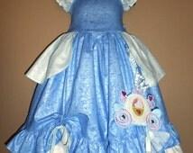 CInderella Inspired~Dress Up~ Costume~Replica~Birthday~Disney Princess~Custom~6-12m 2t 3t 4 5 6 7 8 9 10