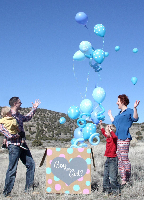 Resultado de imagem para boy or girl balloon