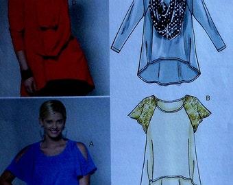 Top Sewing Pattern UNCUT McCalls M6205 Sizes 16-22