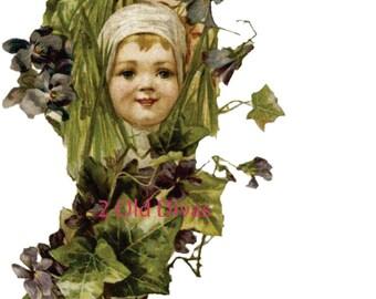 Downton Abbey Era Sweet Catherine Klein Baby Waterslide Furniture Decals