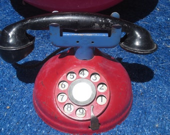 Toy Telephone  1900s Still Works!