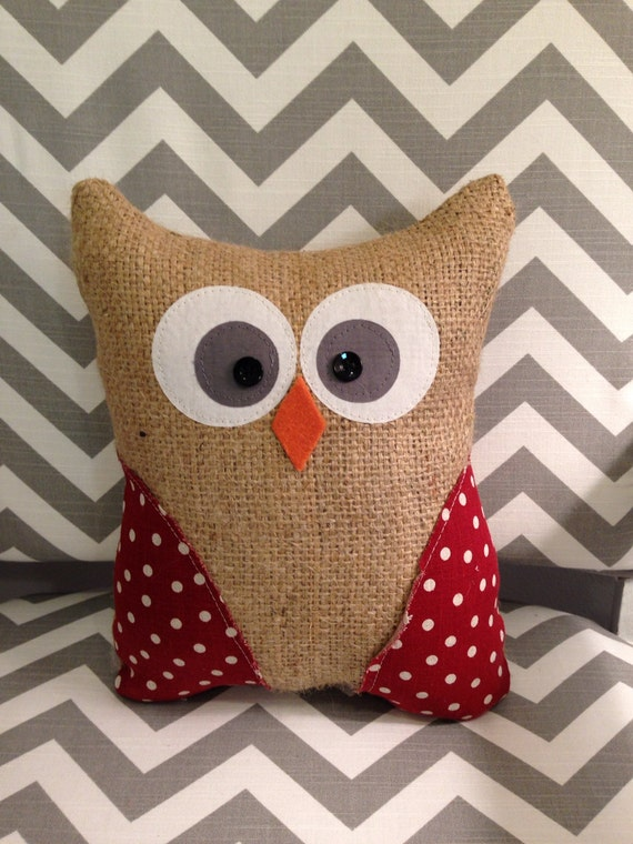 Items Similar To Owl Pillow Stuffed Owl Owl Toy Gifts