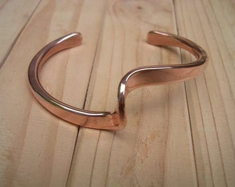 Pure Copper Wave Bracelet