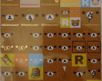 San-X Rilakkuma Sticker Sheet