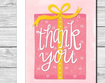 Thank you Notes--Thanks for the gift