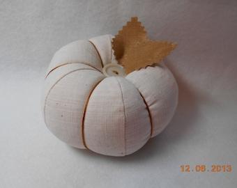 Linen-like  Pincushion Sewing Needle Notion Pin Keeper