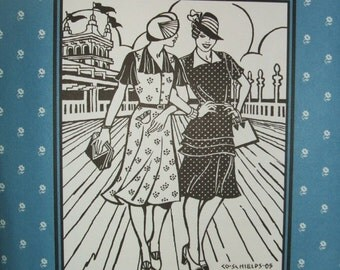 Folkwear #249 1930's Day Dress Sewing Costume Pattern