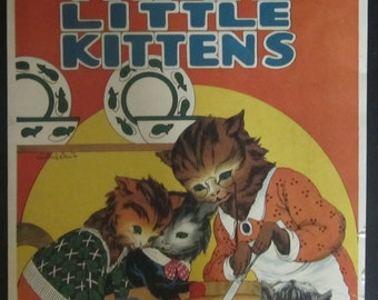 Three Little Kittens  ARTWORK by Helen Chamberlin