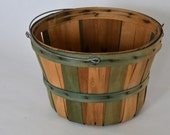 Vintage Apple Basket