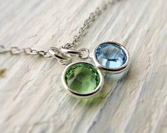 Birthstone Necklace for Grandma, Grandmother Jewelry, Mothers Necklace, New Grandma Necklace, Family Birthstone, Gift for Grandma