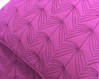 Cotton Fuschia Bedding Set-Quilts and Coverlets-6x90 Inches,