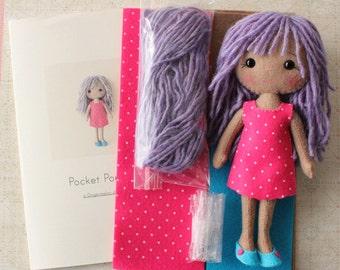Pocket Poppet Pattern Kit - Imogen