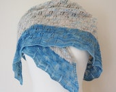 Beautiful Lacy Waves on the Beach Shawl